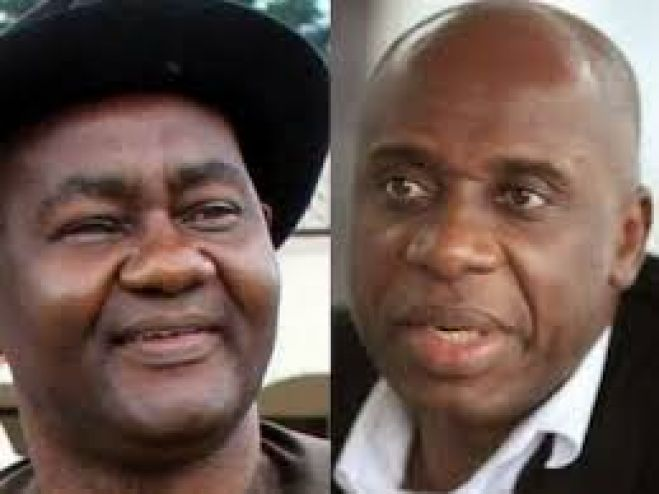 Proposed party Congresses: Abe tackles Amaechi