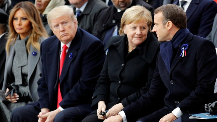World: Trump, other world leaders meet in France amidst growing concerns